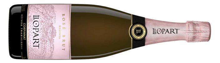 Llopart Rose Brut Reserva 2018 from Spanish Wines