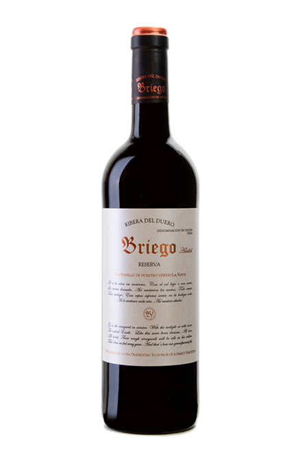 Briego Reserva 2015 from Spanish Wines